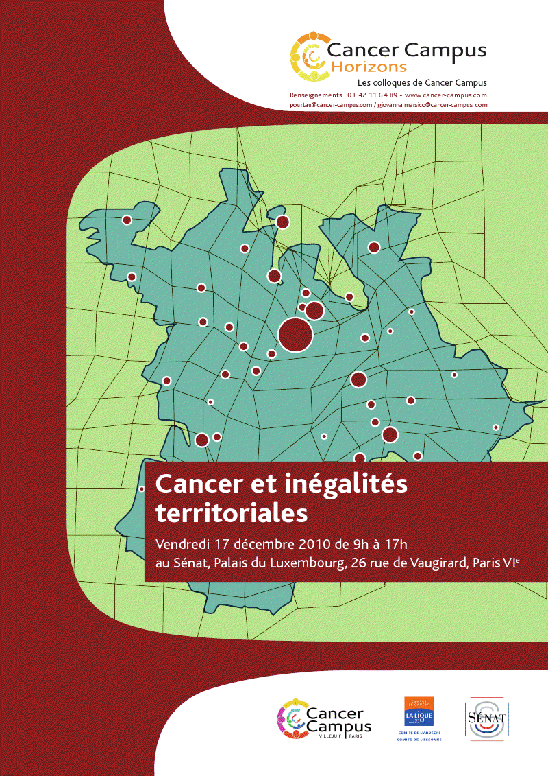 Affiche cancer campus